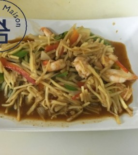 Wok épices thai